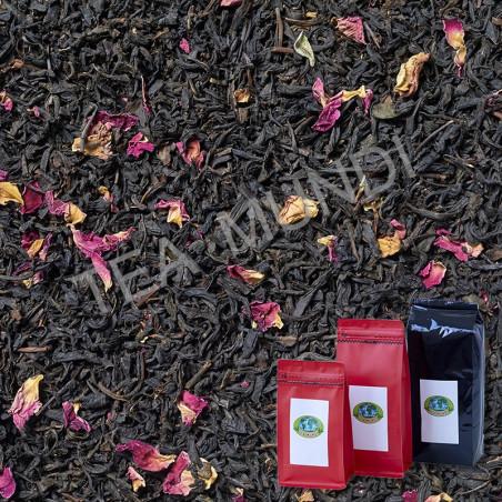 Té negro de rosas (rose kongou)