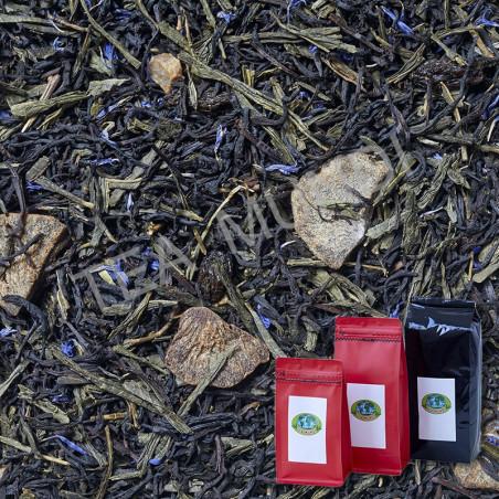 Té negro de kiwi