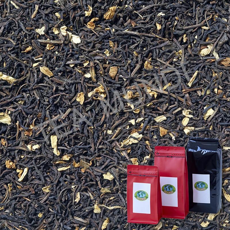 Té negro jardín del Eden desteinado