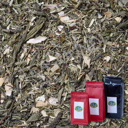 Té verde fuera líquidos