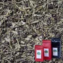 Té verde cereza japonesa desteinado