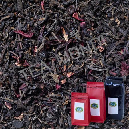 Té rojo pu-erh frutos del bosque