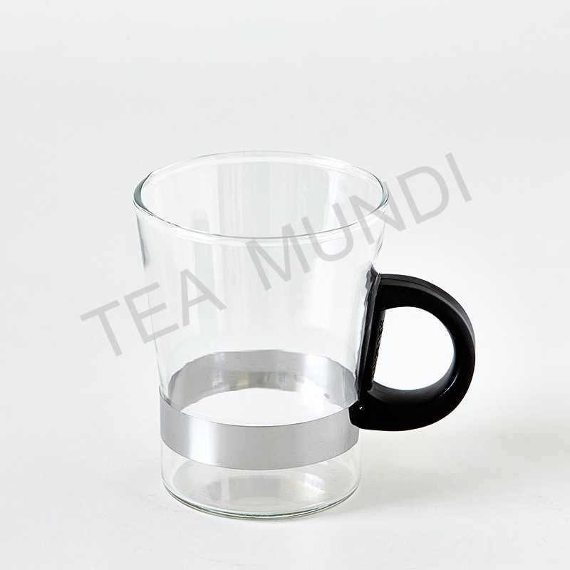 Mug finum tea glass manhattan 250cc borosilicato