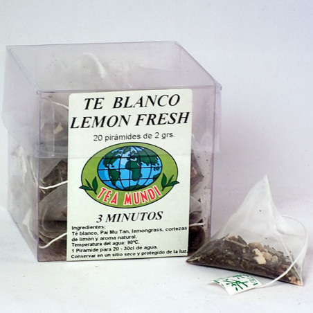 Té blanco lemon fresh